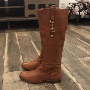 Authentic Coach leather riding boots sz 8.5